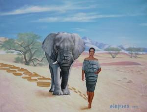 Catwalk Elefant
